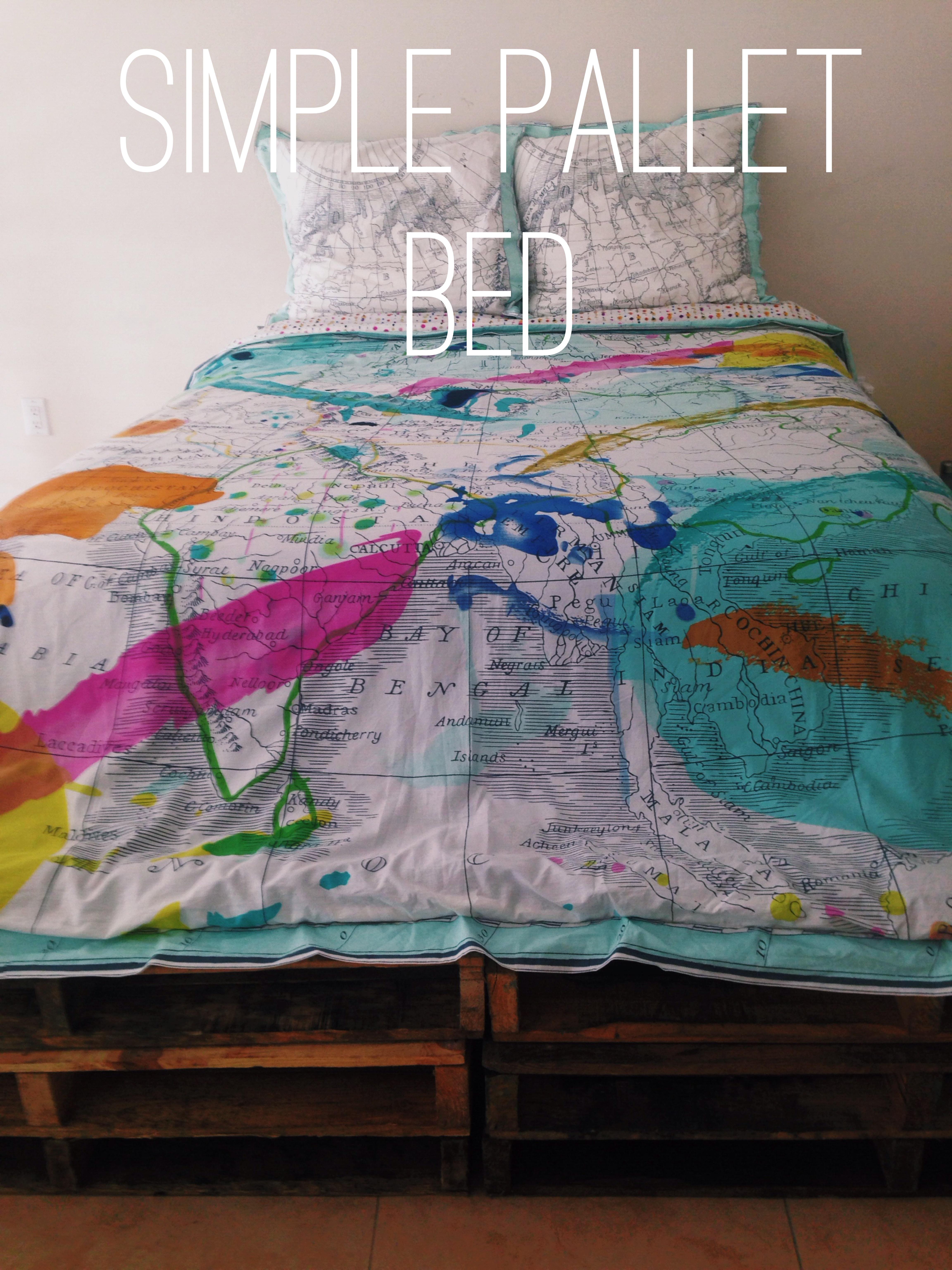 Let S Make A Bed Frame Out Of Pallets A K A Furniture