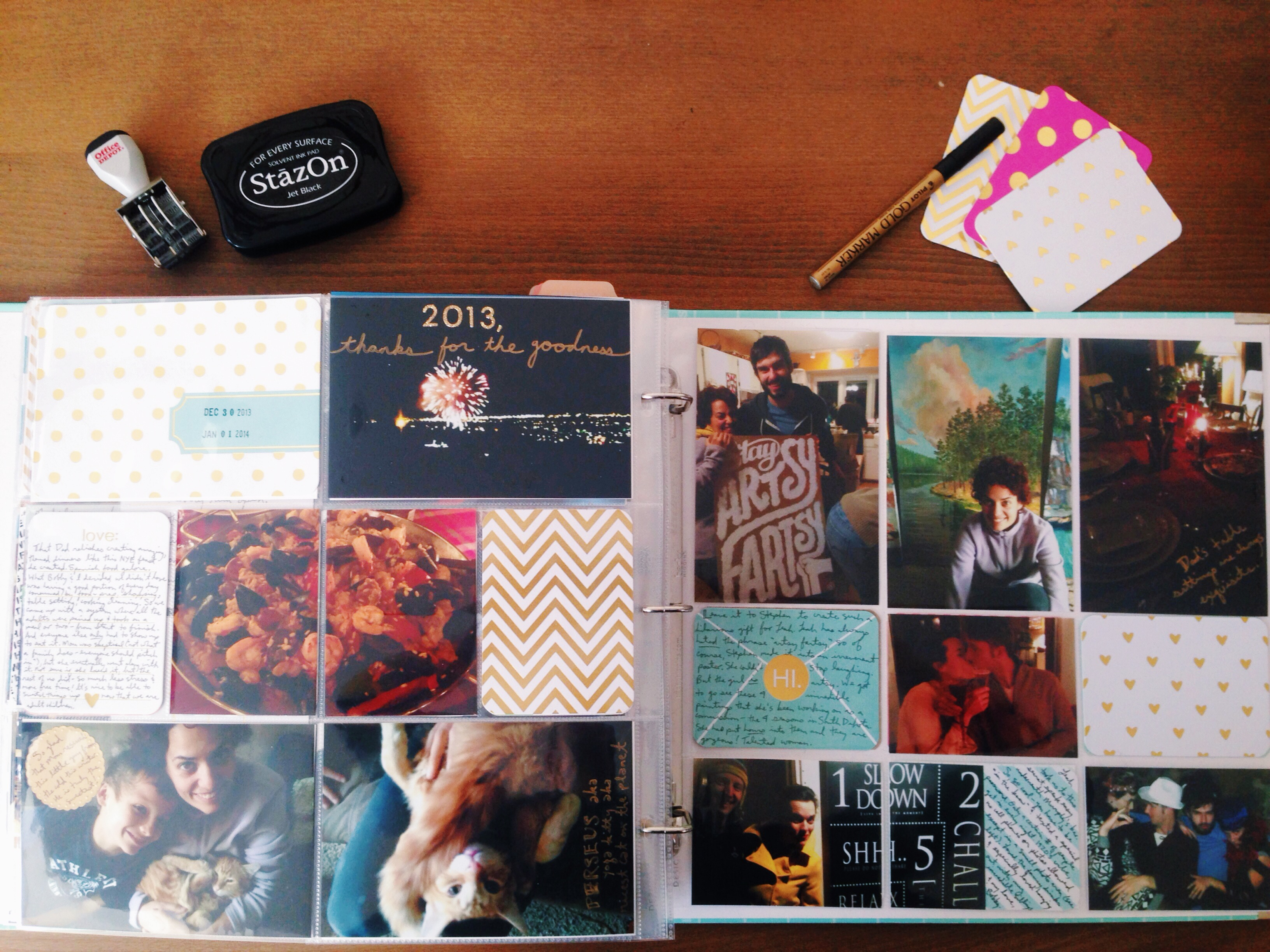How to scrapbook with project life - The Huge Bonus In My Mind Is That Unlike Traditional Scrapbooking I Don T Have To Come Up With A New Layout Every Single Time And Embellish And Fill Up A