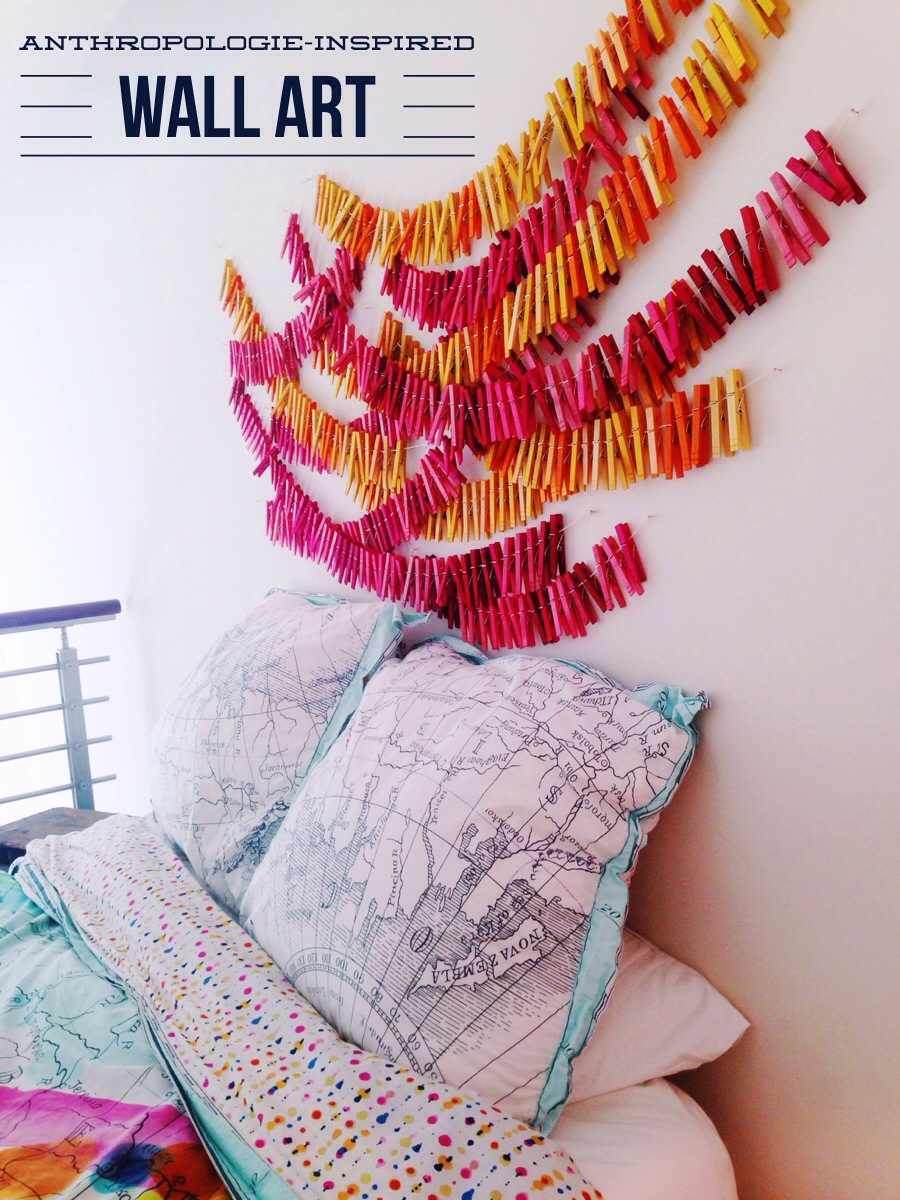 Clothespin Wall Art & Clothespin Wall Art u2022 Your Biggest Fan Grace